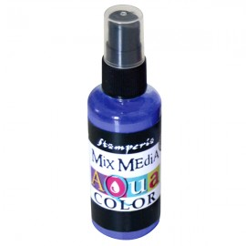 STAMPERIA-AQUACOLOR SPRAY 60ml FIOLET