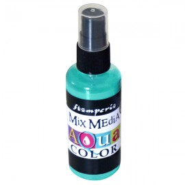 STAMPERIA-AQUACOLOR SPRAY 60ml TURKUS
