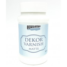 PENTART LAKIER DEKOR MATOWY 500ml