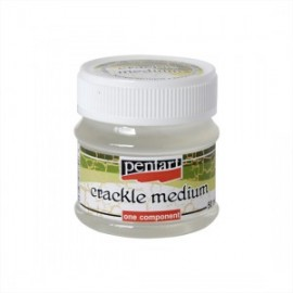PENTART-CRACKLE LAKIER 50 ml 1-SKŁADNIKOWE