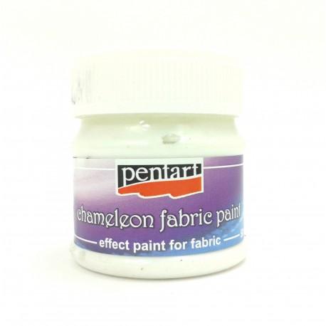PENTART-FARBA DO TKANIN 50 ml CHAMELEON ZIELONY
