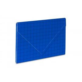TECZKA KOPERTOWA 2 NA RZEP A4 niebieska VauPe