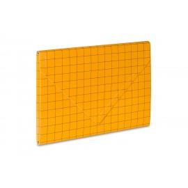 TECZKA KOPERTOWA 2 NA RZEP A4 żółta VauPe
