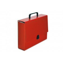 TECZKA Z RĄCZKĄ CLASSIC II-A4 czerwona VauPe