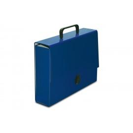 TECZKA Z RĄCZKĄ CLASSIC II-A4 niebieska VauPe
