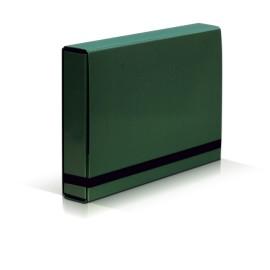 TECZKA Z GUMKĄ A4 BOX CARIBIC zielona VauPe