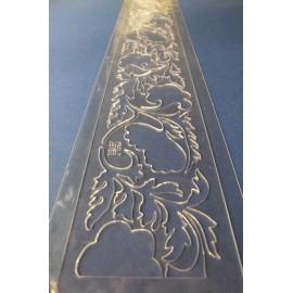 PENTART-SZABLON 46x6,5cm R5 BORDIURA ROŚLINNY MOTYW