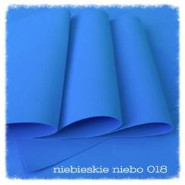 FOAMIRAN-PIANKA 60x70cm NIEBIESKIE NIEBO