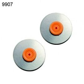 FISKARS-OSTRZA PROSTE (9907) DO OBCINARKI 9908