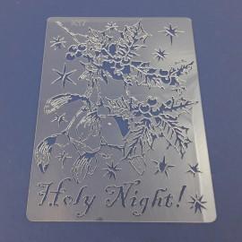PENTART-SZABLON HOLY NIGHT