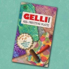 GELLI ARTS-BLOK ŻELOWY DO ODBITEK PROSTOKĄT 7,62x12,7cm