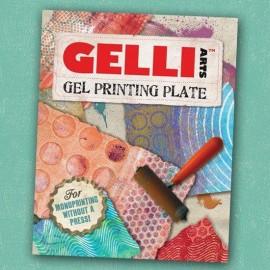 GELLI ARTS-BLOK ŻELOWY DO ODBITEK PROSTOKĄT 20,3x25,4cm