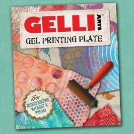 GELLI ARTS-BLOK ŻELOWY DO ODBITEK PROSTOKĄT 30,5x35,56cm