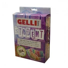 GELLI ARTS-BLOK ŻELOWY ZESTAW STUDENT-12,7cm+WAŁEK+2xSZABLON