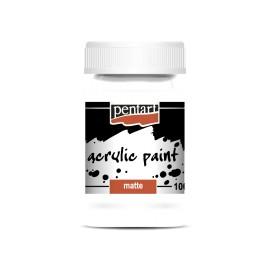 PENTART-FARBA AKRYLOWA 100 ml TYTANOWA BIEL
