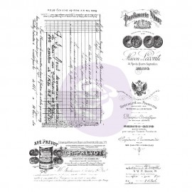 PRIMA-FINNABAIR STEMPEL 19x15 OLD PAPER WORK 5cz.