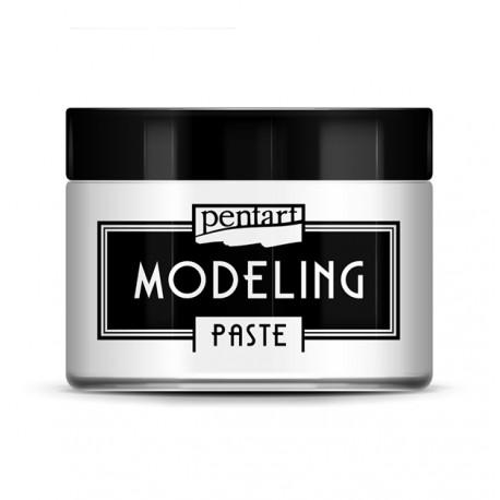 PENTART-PASTA MODELING NOWA 3D GĘSTA 150ml