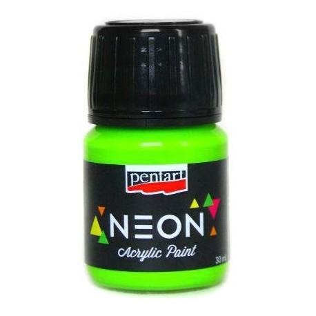 PENTART FARBA NEON 30 ml ZIELONY