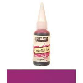 PENTART TUSZ MEDIA INK 20 ml MAGENTA