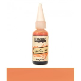 PENTART TUSZ MEDIA INK 20 ml MANDARYNKA