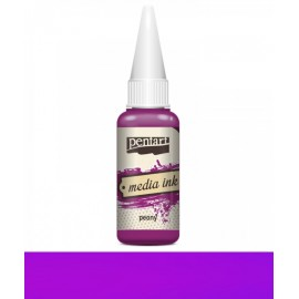 PENTART TUSZ MEDIA INK 20 ml PEONIA