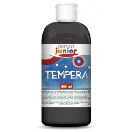 PENTART TEMPERA JUNIOR 500 ml CZARNY