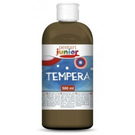 PENTART TEMPERA JUNIOR 500 ml BRĄZOWY