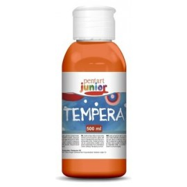 PENTART TEMPERA JUNIOR 500 ml POMARAŃCZOWY