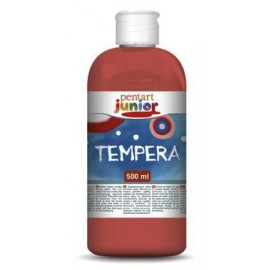 PENTART TEMPERA JUNIOR 500 ml CZERWONY