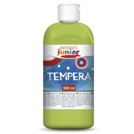 PENTART TEMPERA JUNIOR 500 ml METALICZNY ZIELONY