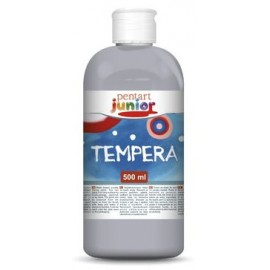 PENTART TEMPERA JUNIOR 500 ml METALICZNY SREBRNY
