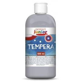 PENTART-TEMPERA JUNIOR 500 ml METALICZNY SREBRNY
