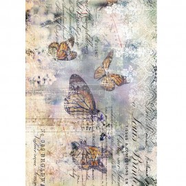 "PRIMA DECOR TRANSFERS 22x30"" MONARCH GRACE (KOLOROWY)"