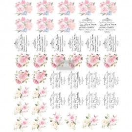 "PRIMA DECOR TRANSFERS 10,5x8,5 ""SWEET SPRING (KOLOROWY)"