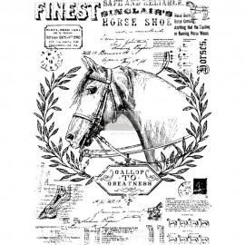 """PRIMA DECOR TRANSFERS 24x33"""" FINE HORSEMEN"""