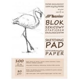BLOK SZKICOWY A3 jasny papier 100k 90892