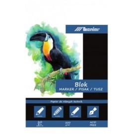BLOK POD MARKERY A4 20k/200g 90831