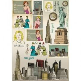 STAMPERIA-PAPIER 50x70 NOWY YORK*