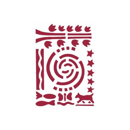 STAMPERIA SZABLON 21x29,7 cm MEXICO