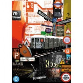 STAMPERIA-PAPIER 50x70 METRO*