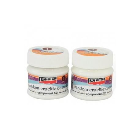 PENTART-CRACKLE NIEREGULARNE 2-SKŁADNIKOWE 50 ml