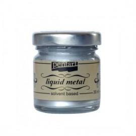 PENTART-PŁYNNY METAL 30 ml SREBRNY