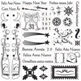 FISKARS-STEMPLE NEW YEAR