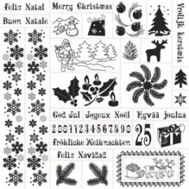 FISKARS-STEMPLE CHRISTMAS