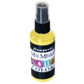 STAMPERIA-AQUACOLOR SPRAY 60ml ŻÓŁTY