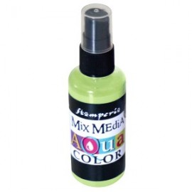STAMPERIA-AQUACOLOR SPRAY 60ml LIMETKA