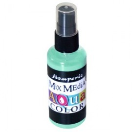 STAMPERIA-AQUACOLOR SPRAY 60ml AKWAMARYNA