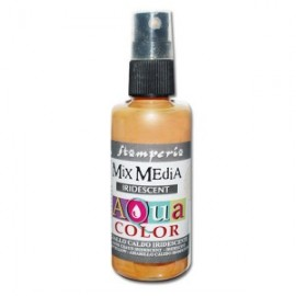 STAMPERIA-AQUACOLOR SPRAY 60ml PERŁOWY ŻÓŁTY