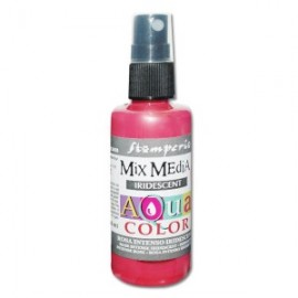 STAMPERIA-AQUACOLOR SPRAY 60ml METALICZNY RÓŻOWY