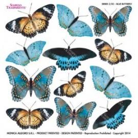 SOSPESO-FOLIA NADRUKOWANA BLUE BUTTERFLY